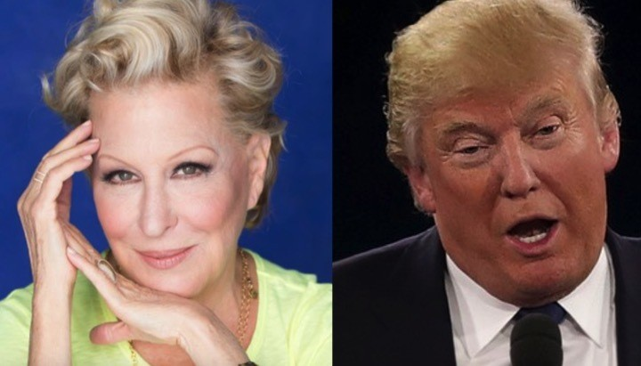 The sublime Bette Midler perfectly sums up Trump's social media summit