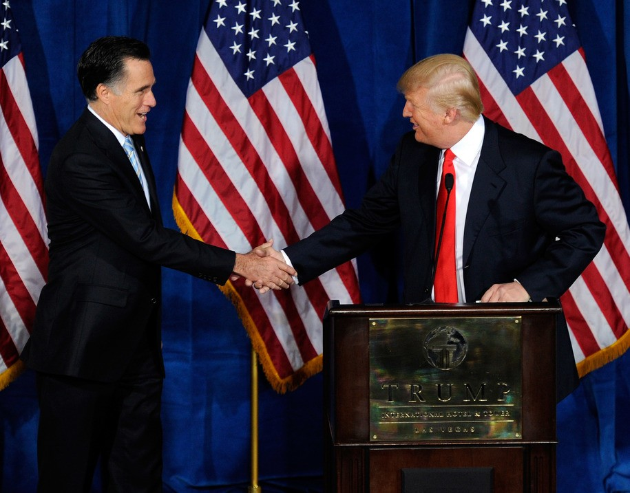 Sen. Mitt Romney: Trump asking Ukraine to investigate rival 'would be troubling in the extreme'