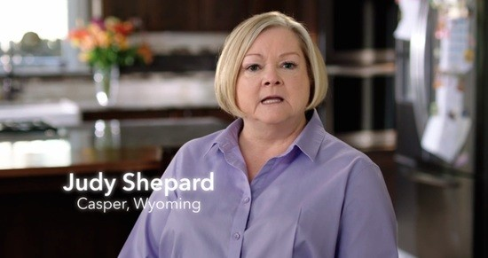 Priorities USA ad: Judy Shepard, mother of Matthew Shepard, who was murdered in 1998 for being gay.