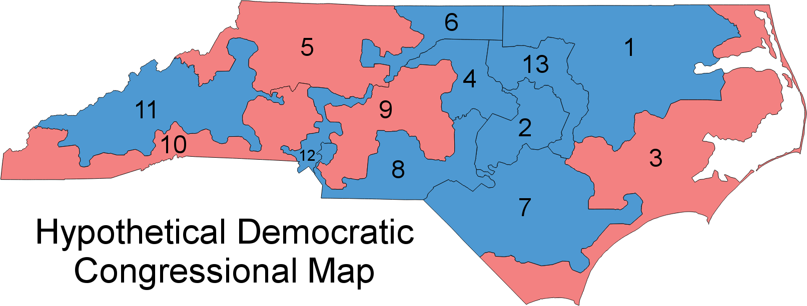 These three maps show just how effectively gerrymandering can