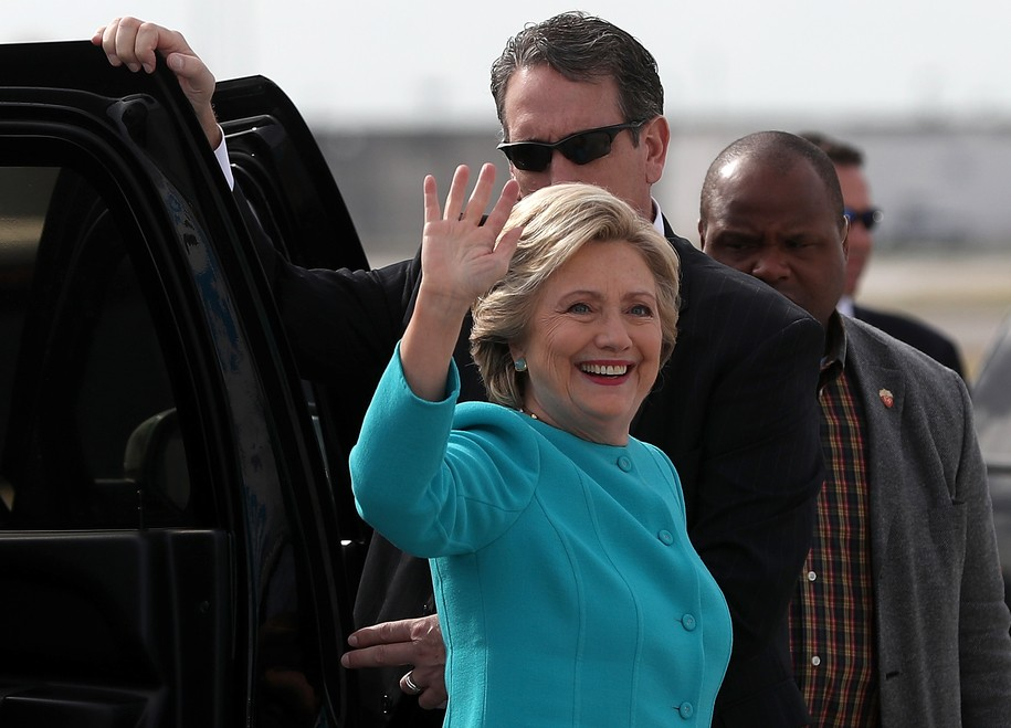 Hillary announces she is resigning … as Fox News's president of the United States