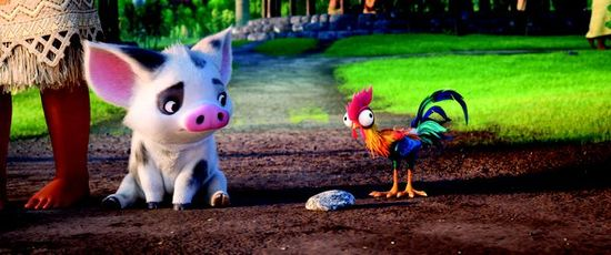 Parable The Pig And Chicken: 'Moana' Continues The Evolution Of The Disney Princess