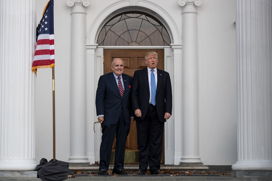 Rudy Giuliani is back to creating a scandal in Ukraine, but that scandal is his, not Joe Biden's
