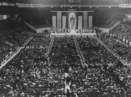 In trump the 1930s nazi sympathizers find their 21st - Madison square garden nazi rally ...