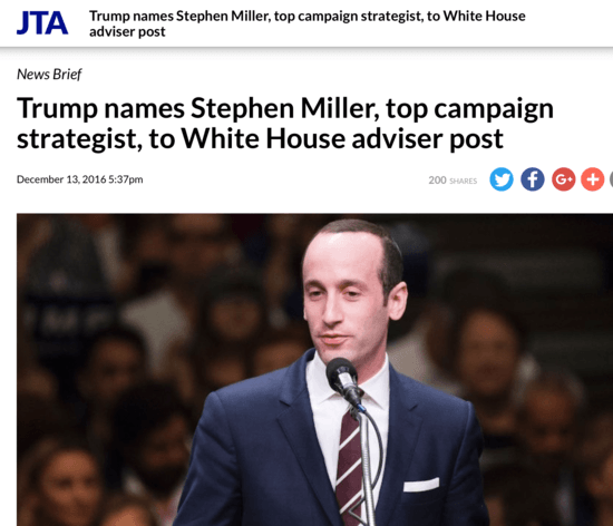 Image result for PHOTOS OF STEPHEN MILLER AND GENE hAMILTON