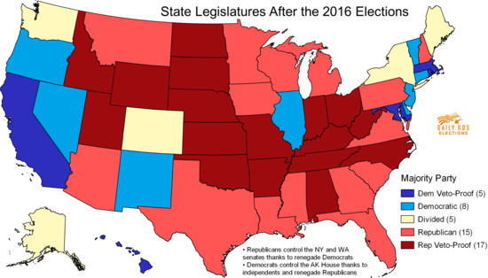 Republicans now dominate state government, with 32 ...