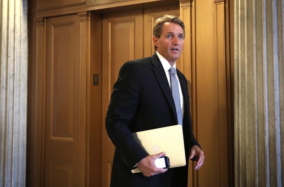 photo image Billionaire Breitbart sugar daddy spending $300,000 toward unseating Republican Sen. Jeff Flake