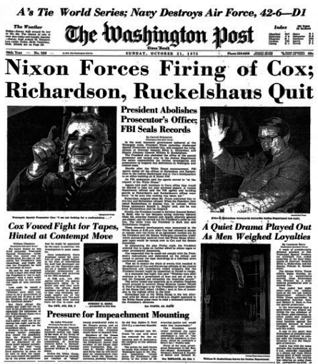 Watergate: Burglary To Resignation Timeline