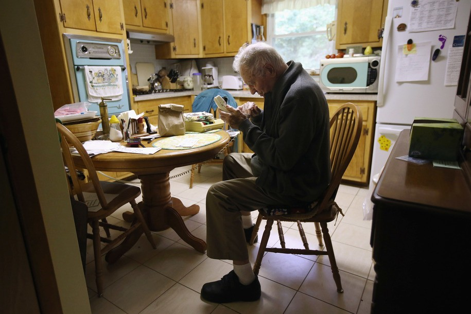 The rate of older Americans filing for bankruptcy is rising steeply