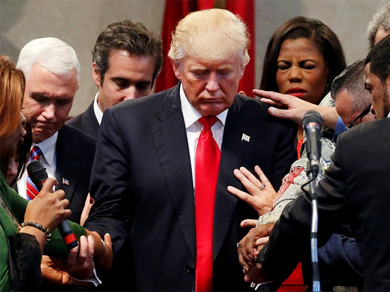 Most of Cabinet — But Not Trump — Attend Weekly White House Bible ...