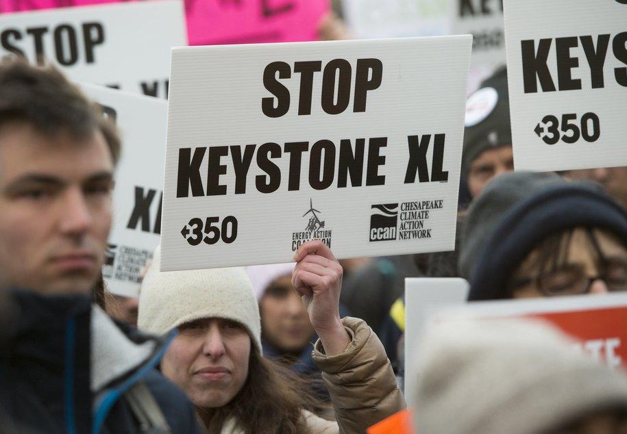 "Breaking: ""Trump abruptly issues new Keystone XL permit in boon to lobbyists"""