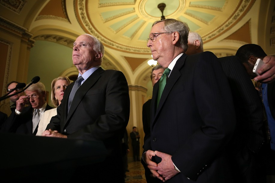 photo image Trumpcare vote delayed while McCain recovers from surgery