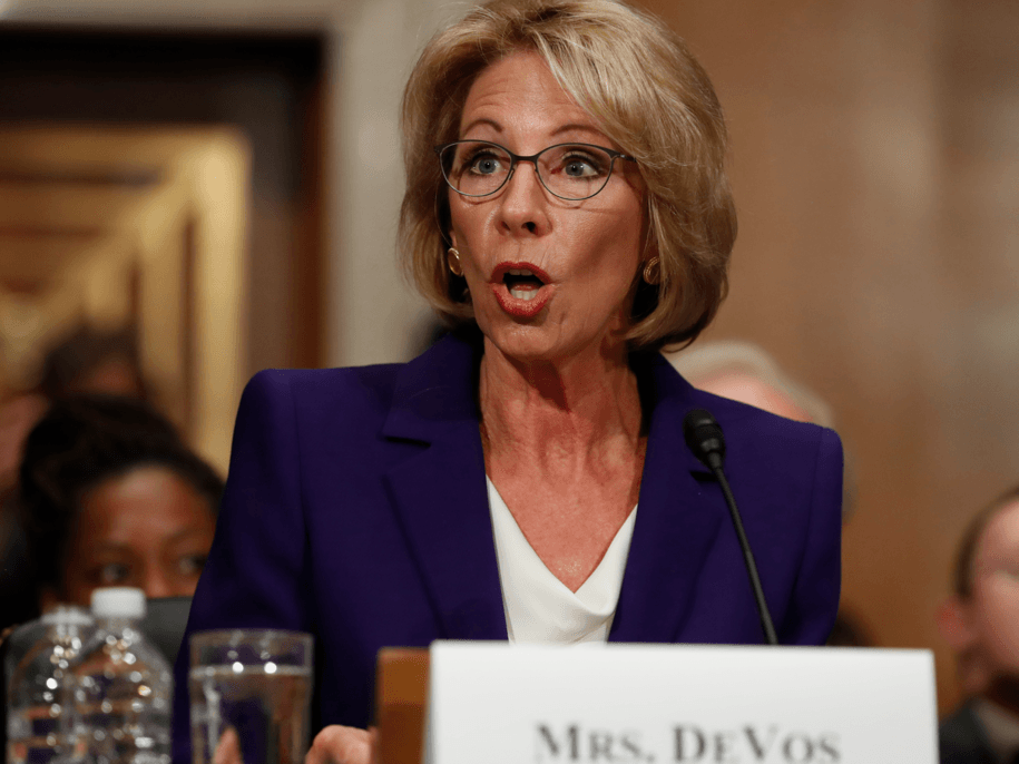Betsy DeVos To Allow ForProfit Colleges To Resume Scamming Students With Worthless Degrees