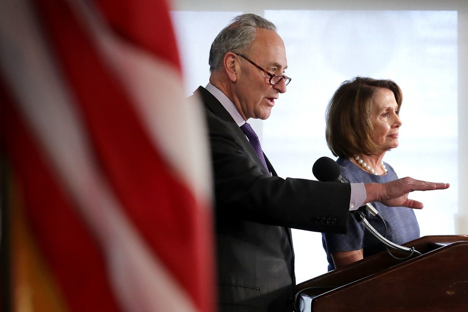 photo image Schumer and Pelosi say they reached an agreement with Trump to protect Dreamers