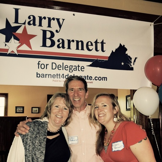 Larry Barnett campaign kickoff party 5/7/17, Midlothian VA
