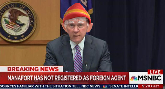Image result for jeff sessions elf images