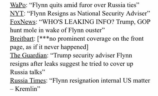 #TrumpRussia ... Flynn may be a mole but Trump wants him on his lip or in his belly