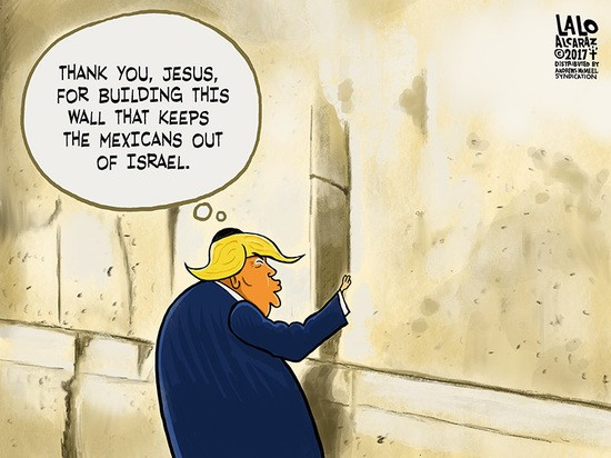 Image result for trump holy cartoons
