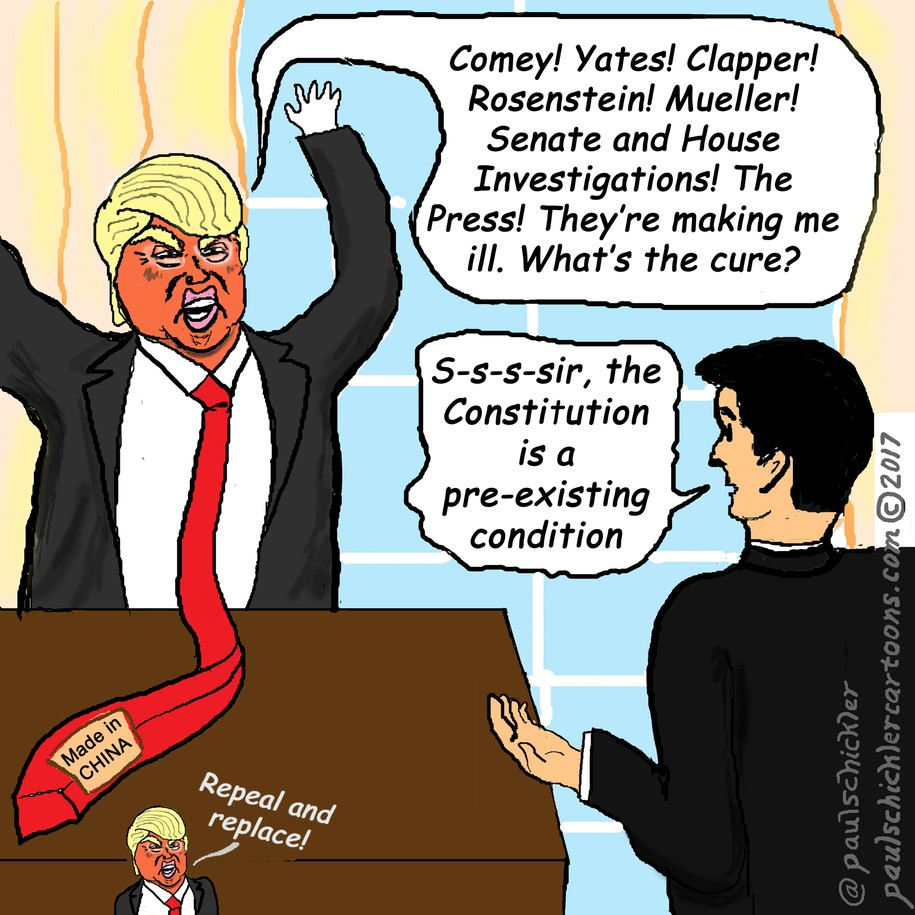 Image result for trump closing in investigation cartoon