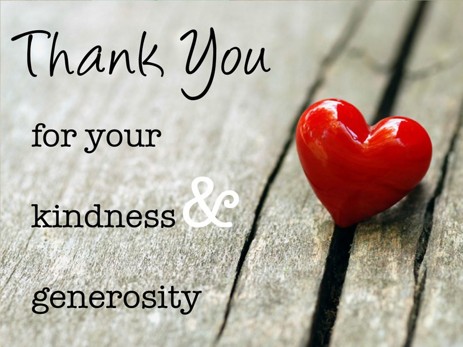 what random acts of kindness have you received this year