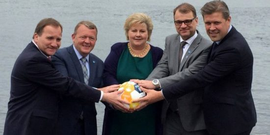The prime ministers of Norway, Finland, Sweden, Denmark, and Iceland mock Donald Trump