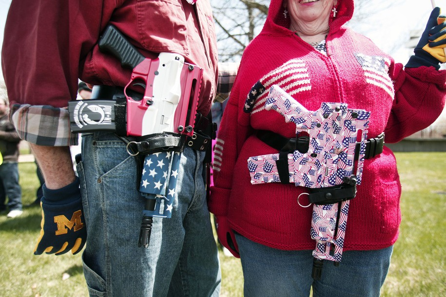 Open carry activists were not asked to leave Walmarts when