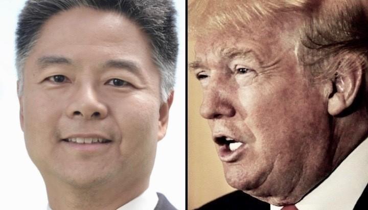 Ted Lieu shames Trump over plan to pardon war criminals: 'You never served'