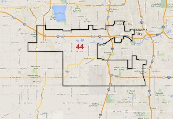 Democrat Michael BrooksJimenez For Oklahoma State Senate - Oklahoma us senator map