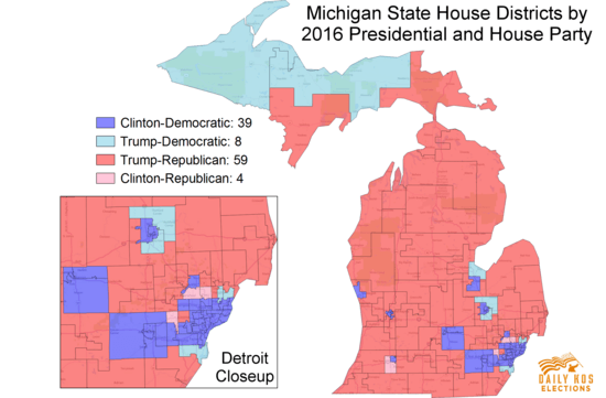 Morning Digest Despite Gop Gerrymanders 2014 Shows How Michigan Democrats Could Make Gains In 2018