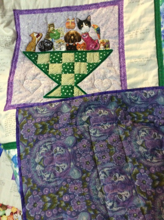 The Mart's quilt