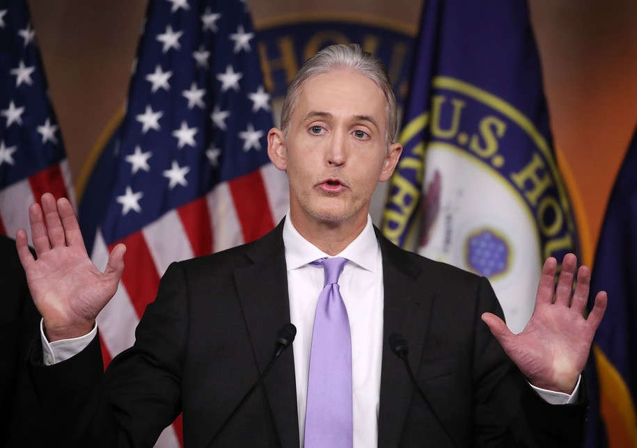 BREAKING: Trey Gowdy resigns from House Ethics Committee