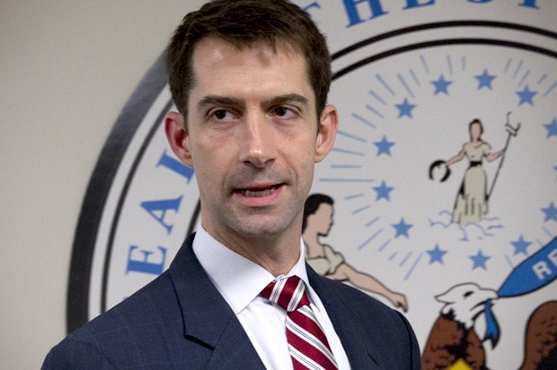 Sen. Tom Cotton: Green New Deal will lead to 'the Gestapo'