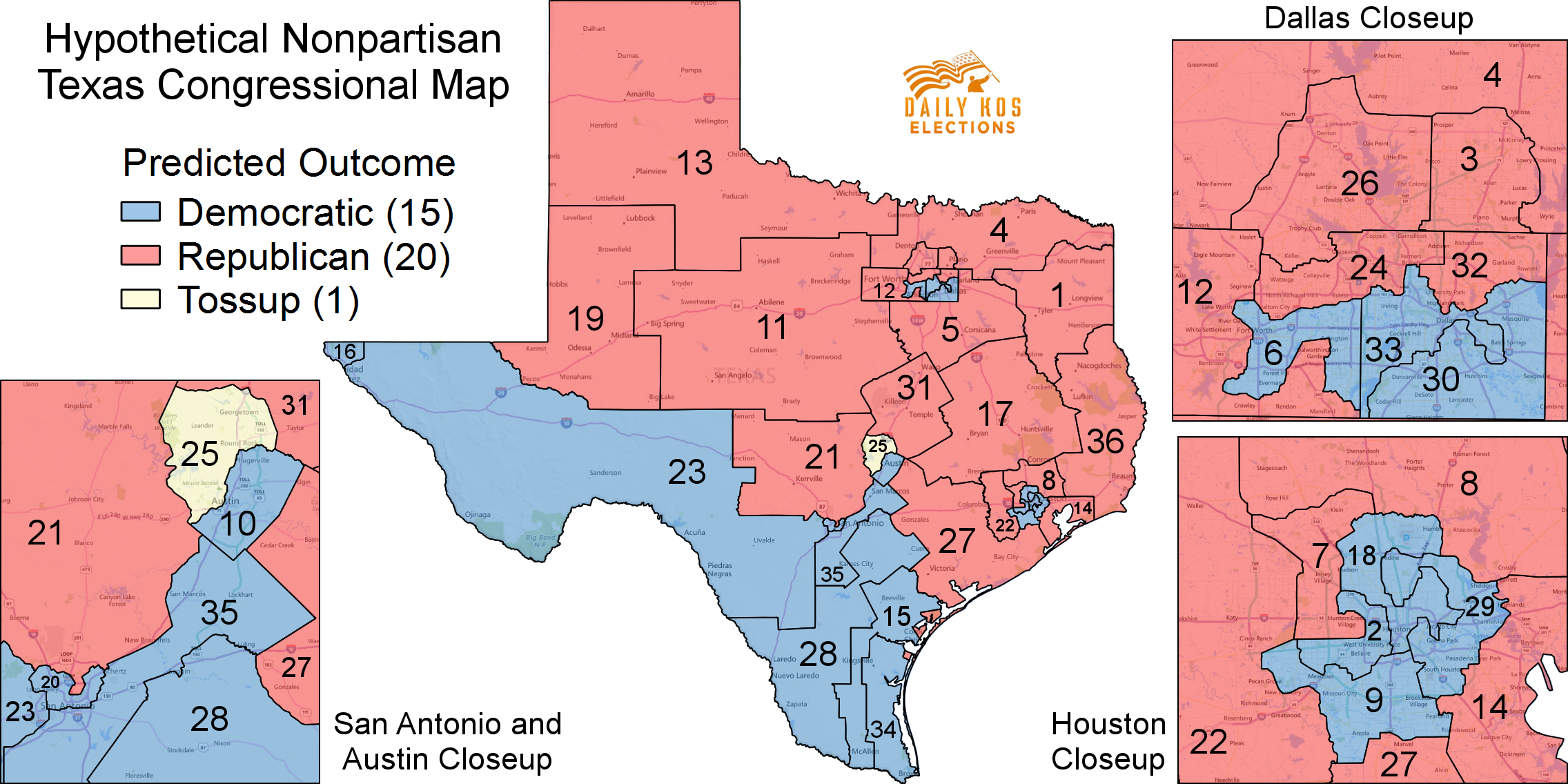 Just How Effective Is Gop Gerrymandering In Texas, And What Might A Redrawn  Map Look Like In 2018 As A Consequence Of A Favorable Court Ruling?