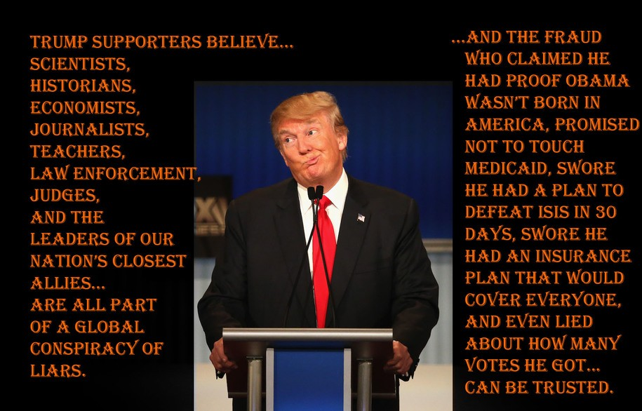 Even Those Who Are Paid Very Well To Constantly Lie For This POTUS Are Signaling That They Are Done.