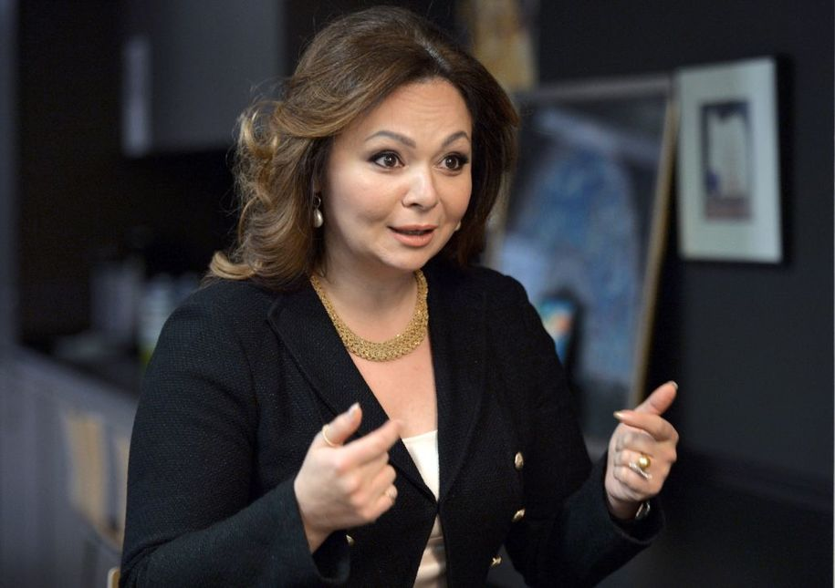 A picture taken on November 8, 2016 shows Russian lawyer Natalia Veselnitskaya speaking during an interview in Moscow..The bombshell revelation that President Donald Trump's oldest son Don Jr. met with a Kremlin-tied Russian lawyer hawking damaging material on Hillary Clinton has taken suspicions of election collusion with Moscow to a new level. / AFP PHOTO / Kommersant Photo / Yury MARTYANOV / Russia OUT        (Photo credit should read YURY MARTYANOV/AFP/Getty Images)
