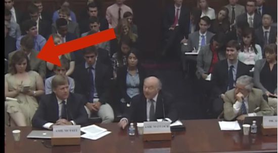 "NataliaVeselnitskaya at the House hearing on ""U.S. Policy Towards Putin's Russia."""