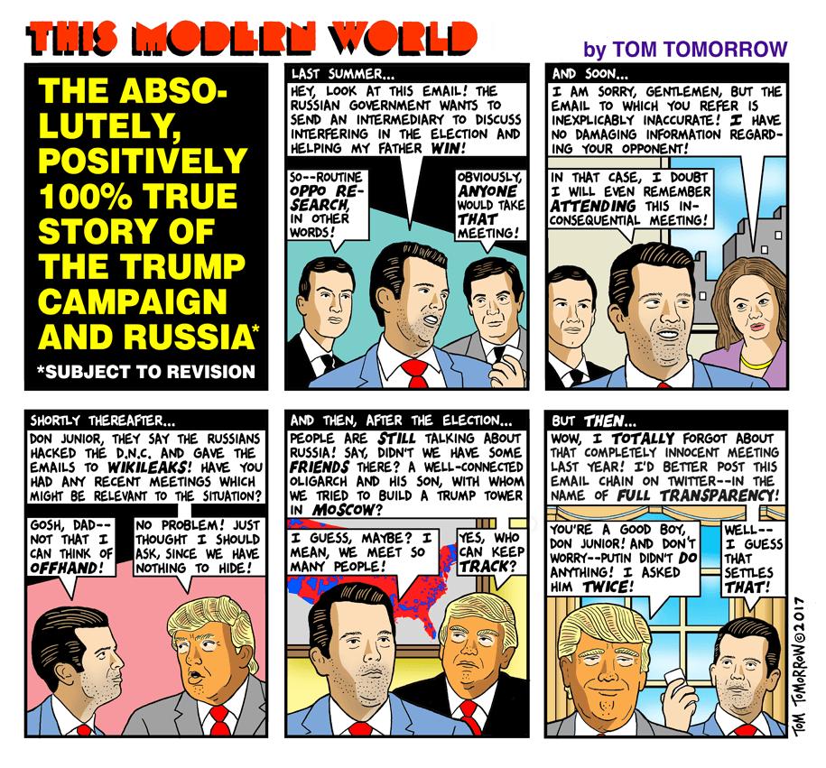photo image Cartoon: The true story