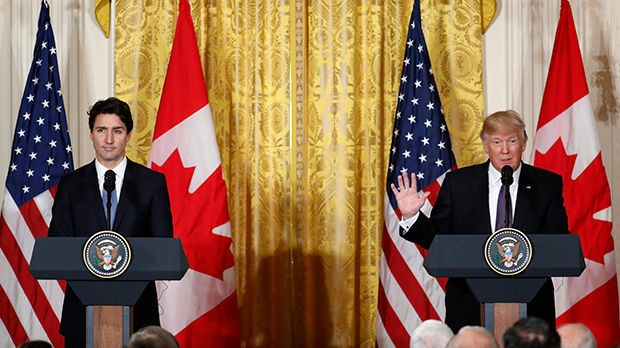 Trudeau Declines to Die for a Trump Photo-Op