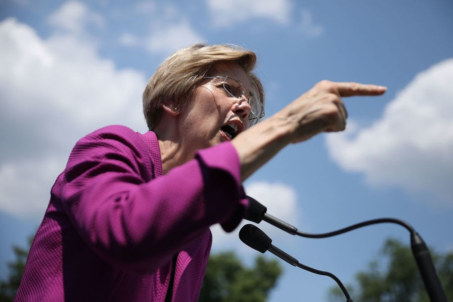 Open thread for night owls: Democrats who voted for stinking bank bill irked at Warren's criticisms