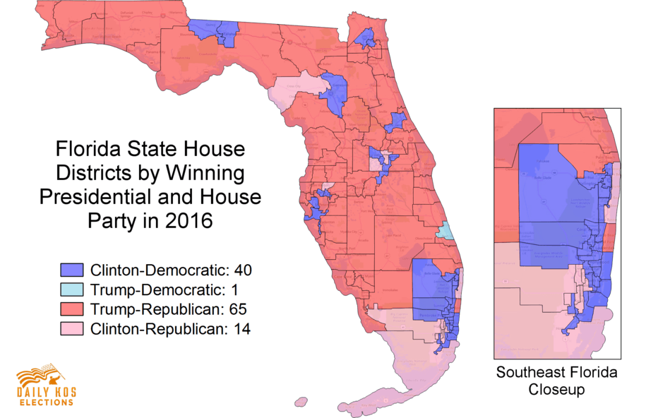 Morning Digest Florida Democrats Face Steep Deficits But - Map of us house district 12 florida