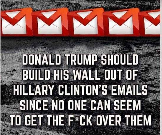 Wall of emails