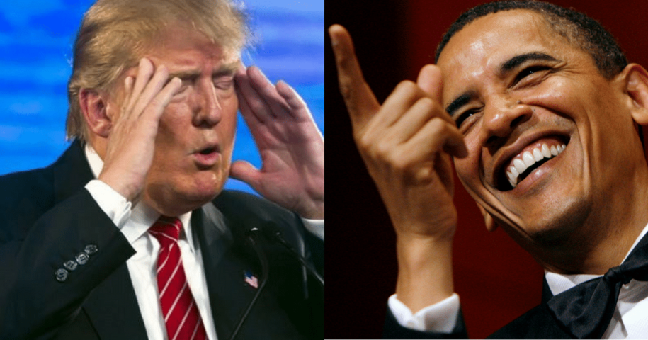 HYPOCRITE TRUMP Rips Obama's Executive Orders as 'Major Power Grabs of Authority'