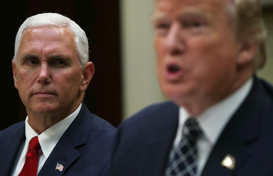 Hugging Trump, Pence declines to cooperate with House's 'self-proclaimed impeachment inquiry'