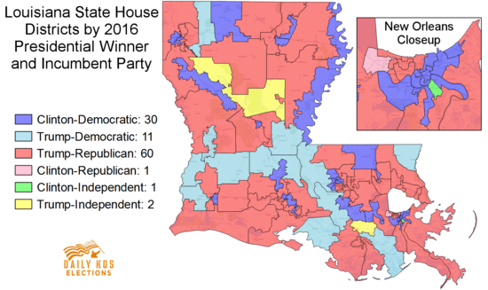 louisiana house of representatives map Big Special Elections In Louisiana Include A Very Flippable Seat louisiana house of representatives map