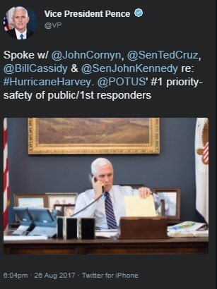 Pence caught trying to act presidential   deletes tweet as #TrumpRussia moves forward