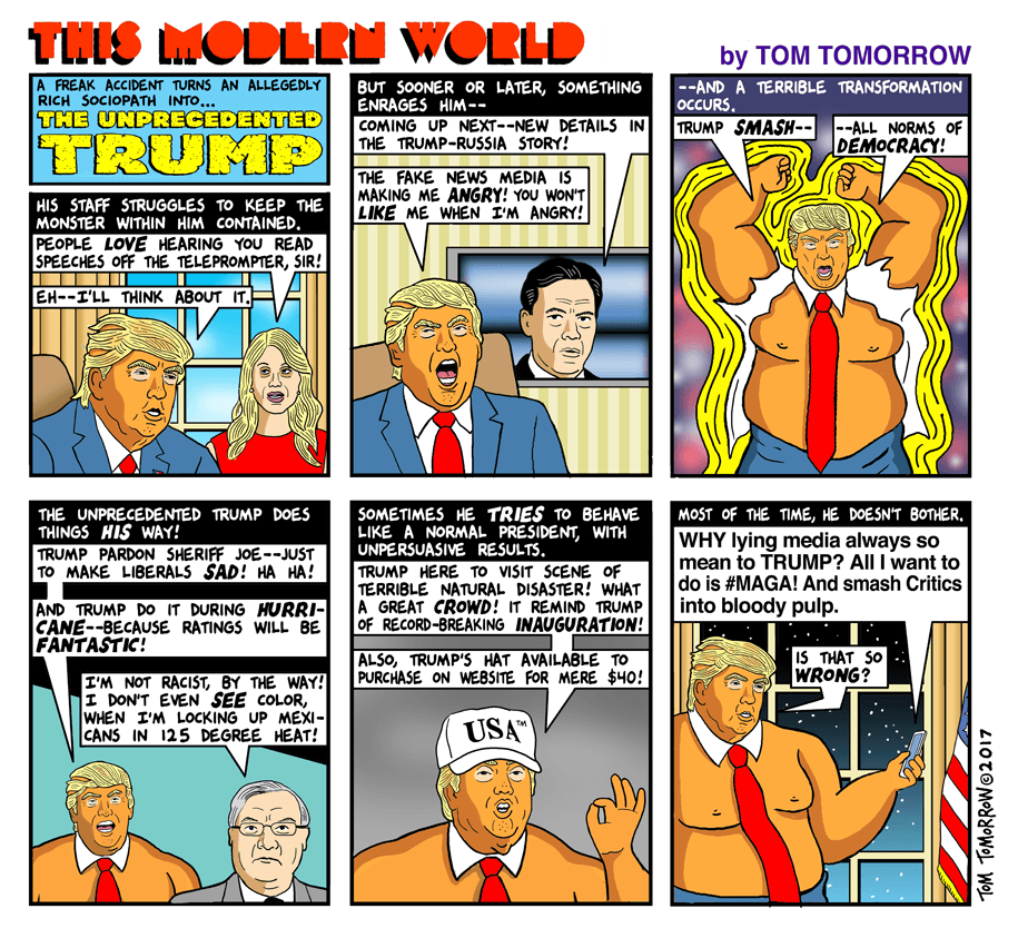 Daily Kos: Tom Tomorrow
