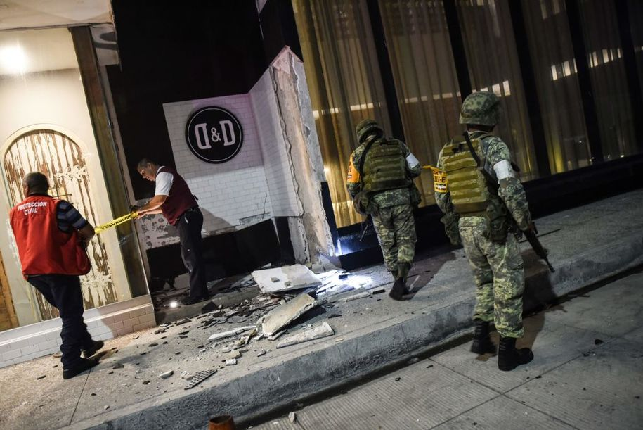 photo image After Mexico experiences quake, hurricane, Trump offers no U.S. aid—or even condolences