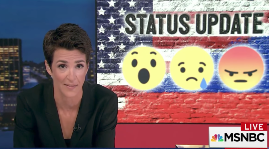 Maddow's breakdown on Facebook revelations and their ramifications for Jared Kushner are a must-see