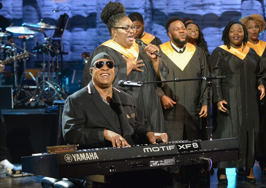 Stevie Wonder on climate deniers: 'Must be blind or unintelligent'