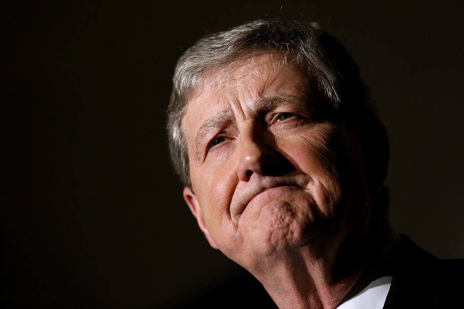 Sen. John Kennedy returns to the Sunday shows to spout new pro-Putin conspiracy theories